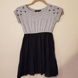 Disorderly Kids gray black dress 7